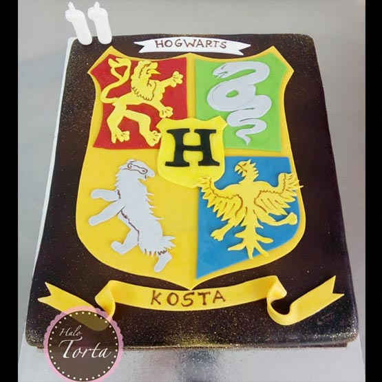 hogwarts torta harry potter decije torte halo torta beograd. Black Bedroom Furniture Sets. Home Design Ideas