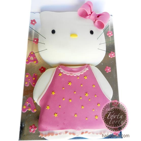 Hello Kitty 2D torta
