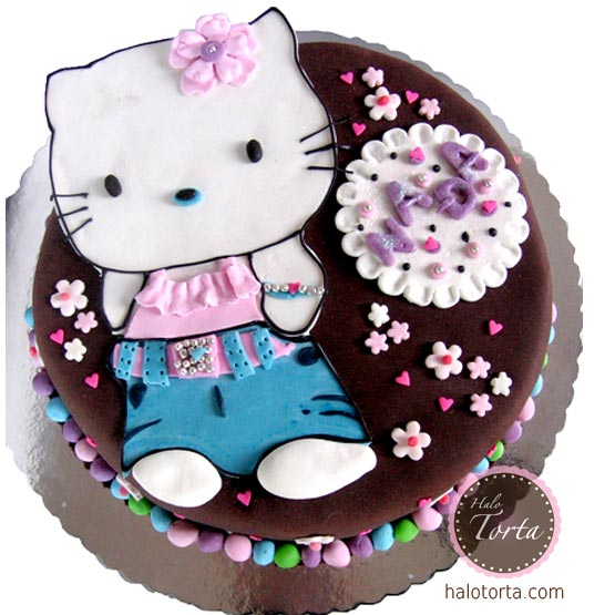 Hello Kitty braon torta