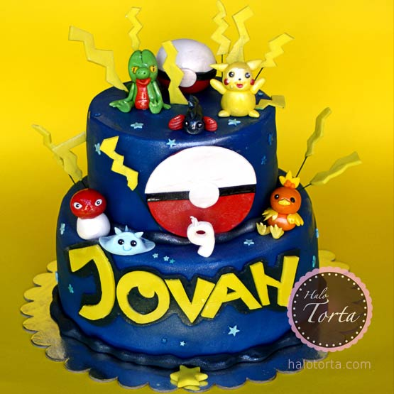 Torta Pokemon spratna