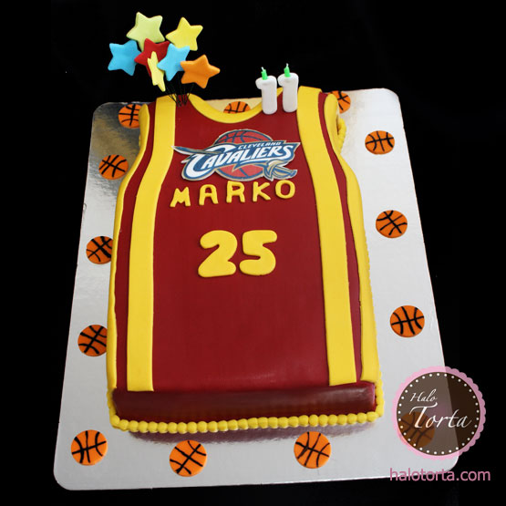 Torta dres Cleveland Cavaliers