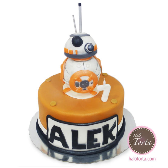 Star Wars Torta BB8