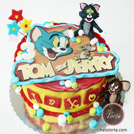 Tom i Jerry torta