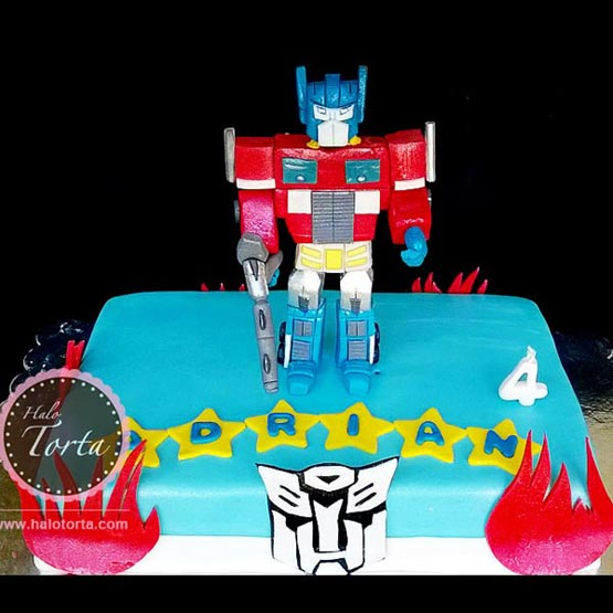 Torta Transformers Optimus Prajm