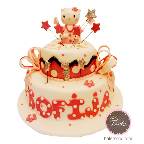 Hello Kitty spratna torta