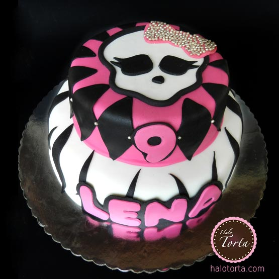 Monster High torta sa lobanjom