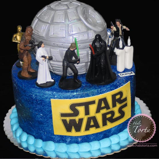 Star Wars torta i figurice