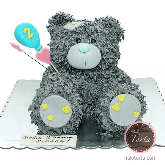 3d torta Tatty Bear