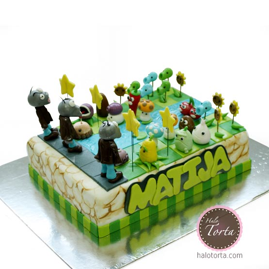 Plants VS Zombies torta