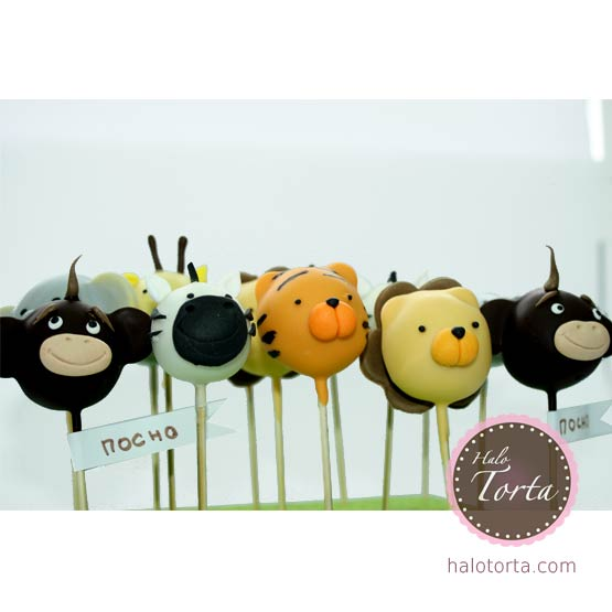 Cake pops safari