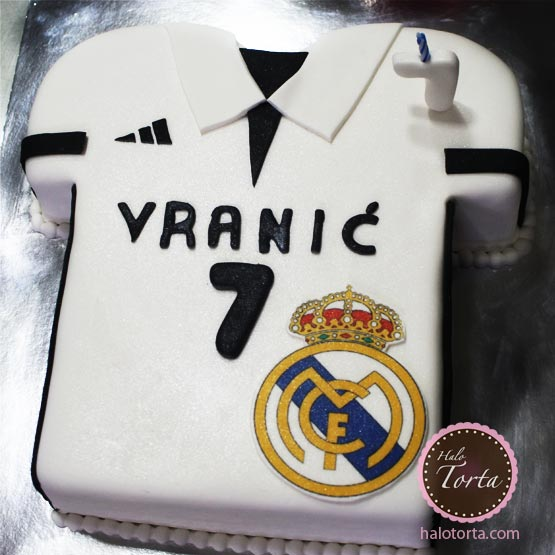 Torta dres Real Madrid