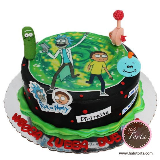 Torta Rick and Morty