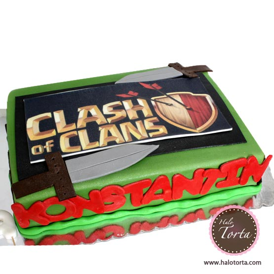 Clash of Clans torta
