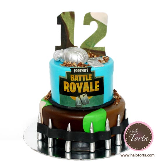 Torta Fortnite spratna