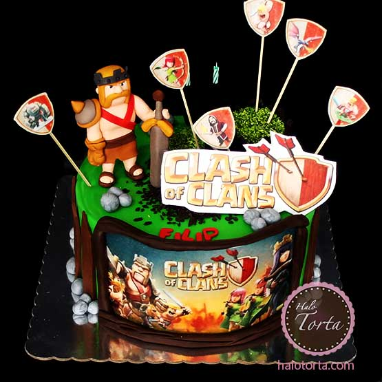 Torta Clash of Clans