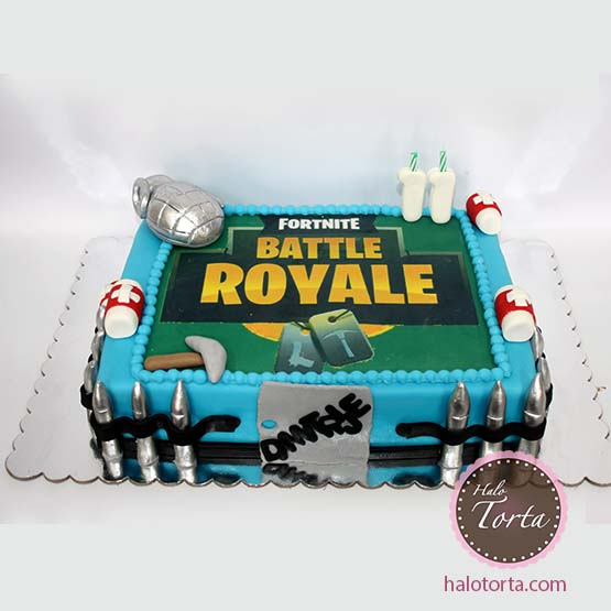Fortnite torta Battle Royale