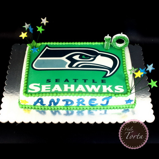 Torta Seattle Seahawks