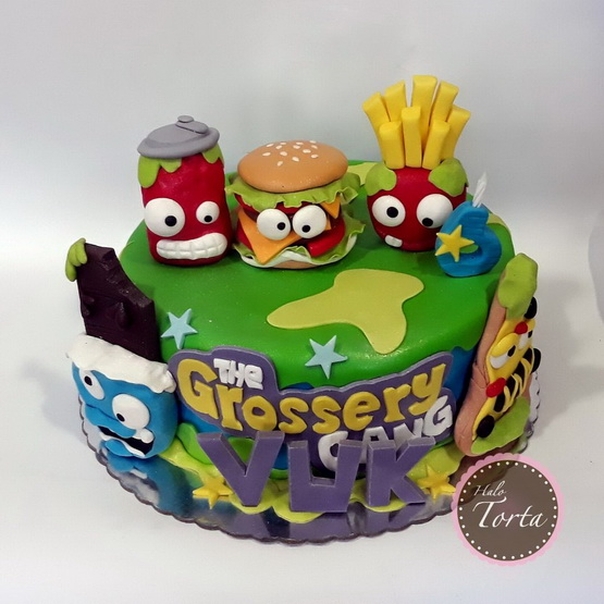 The Grossery Gang torta