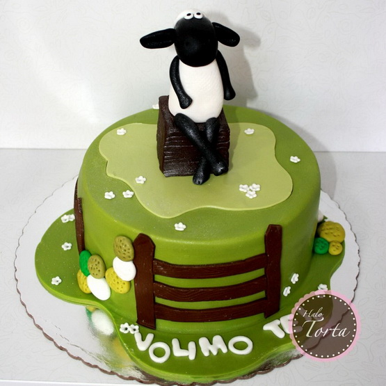 Torta Shaun the Sheep